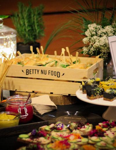 Buffet dans un événement